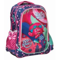 Backpack Trolls Happy 44 CM