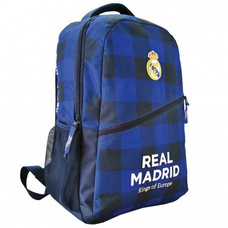 Backpack Black Real Madrid blue 43 CM
