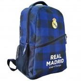 Rucksack schwarz Real Madrid blau 43 CM