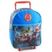 Sac à roulettes Avengers Team 34 CM maternelle - Cartable