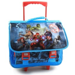Avengers team 41 CM tas met wieltjes-trolley top