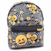 Emoji Blue Jeans 46 CM backpack
