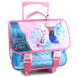 Frozen Sisters 41 CM Rolling Backpack