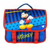 Cartable Mickey Star bleu 35 CM