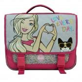 Schooltasje 38 CM pink Barbie