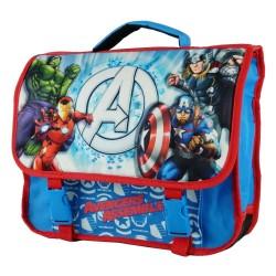 Cartable Avengers 3D bleu 38 CM