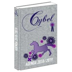 Agenda horse Cybel Marine 17 CM