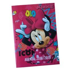 Agenda Minnie Rose 17 CM