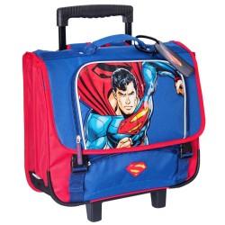 Rolling School Bag Superman Comics 41 CM Premium Trolley