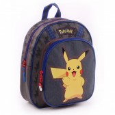 Sac à dos 31 CM Pokemon Pika Pika maternelle - Cartable