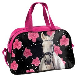 Sac de sport Cheval Flower 40 CM