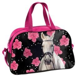 Sport paard bloem 40 CM tas