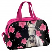Native horse Flower 28 CM backpack