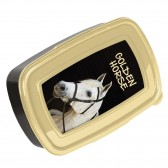 Boite gouter Cheval Golden Horse 18 CM