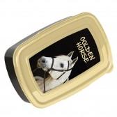 Box lunch caballo flor de 18 CM