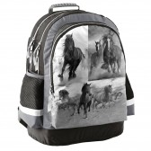 Horse Cybel backpack Navy 43 CM