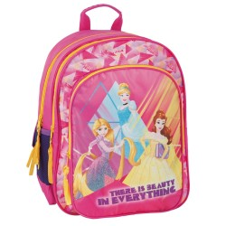 Princesas Disney mochila rosa 38 CM - 2 Cpt