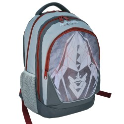 Backpack Assassin's Creed gray 45 CM - 2 Cpt