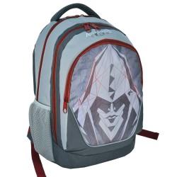 Sac à dos Assassin's Creed gris 45 CM - 2 Cpt