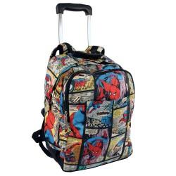 Rolling Backpack Spiderman Comics 41 CM - Trolley