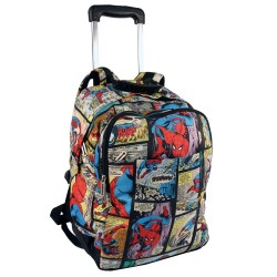 Sac à roulettes Spiderman Comics 41 CM - Cartable