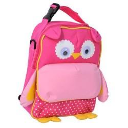 Backpack OWL pink 28 native CM