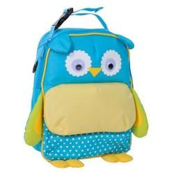 Backpack native Blue OWL 28 CM