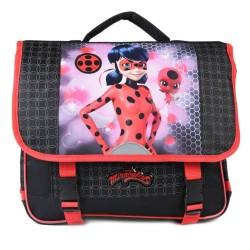 Binder Ladybug Miraculous black 38 CM