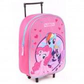 Rollen van kleine pony vrienden 38 CM - satchel tas