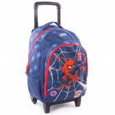 Sac à roulettes 45 CM Spiderman Power Haut de gamme Trolley - Cartable