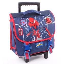 Rolling School Bag Spiderman Power 38 CM Trolley