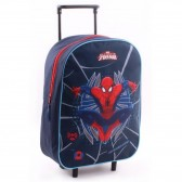 Sac à roulettes Spiderman Super héros 39 CM - Cartable