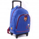 Sac à roulettes 45 CM FC Barcelone We are Haut de gamme Trolley - Cartable