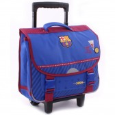 Cartable à roulettes FC Barcelone We are Trolley 38 CM Haut de gamme