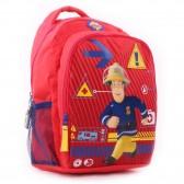 Sac à dos Sam le pompier maternelle 35 CM - Cartable