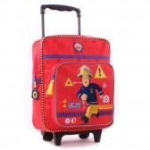Rolling Backpack Sam the Fireman 35 CM