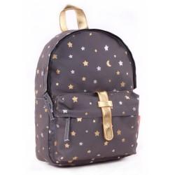 Oro 31 CM mochila elegante jardín de la infancia