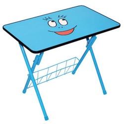 Table of child activities blue Barbibul