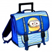 Bookbag skateboard Minions 38 CM high end blue