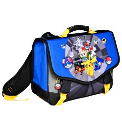 Cartable Pokemon Alola 38 CM Haut de Gamme - LED