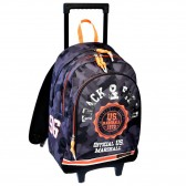 Rolling Backpack US Marshall Camouflage 45 CM Trolley