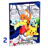 Agenda Pokemon 21 CM - Cahier de texte