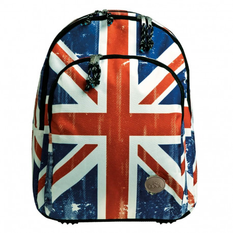 Sac à dos Be Cool UK London 45 CM - 2 Cpt