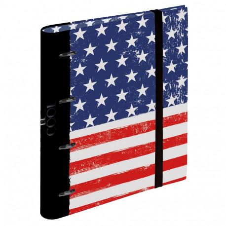 Binder A4 Be Cool USA 32 CM
