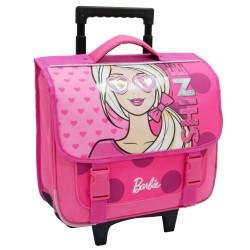 Rolling Backpack Barbie Pink 38 CM Trolley