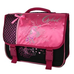 Cartable Cheval Cybel 38 CM Rose