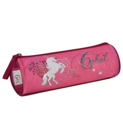 Trousse Cheval Cybel 22 CM Rose