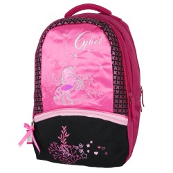 Backpack Cybel horse pink 43 CM