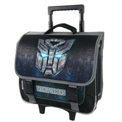 Cartable à roulettes Transformers Optimus Final 38 CM Trolley Haut de gamme - Cartable