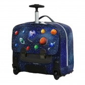 Rolling Backpack Young first  LED SPACE 38 CM - Trolley